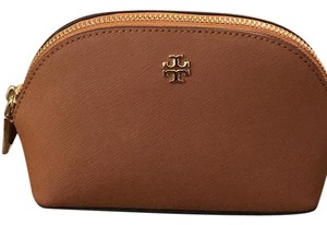 Tory Burch Tory Burch Robinson Leather Cosmetic Case