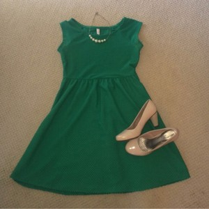 Xhilaration short dress Green on Tradesy