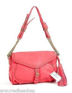 Isabella Fiore Heritage Coral Cross Body Bag