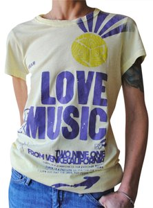 291 Venice Supima T-shirt Beach T Shirt Yellow