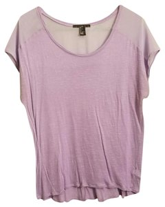 Forever 21 T Shirt Lilac