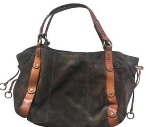 Lucky Brand Tote in green and brown