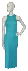Teal Maxi Dress by Versace