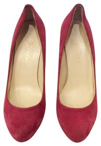 Ivanka Trump High Heel Ivanka Round Toe Fashion Magenta Pumps