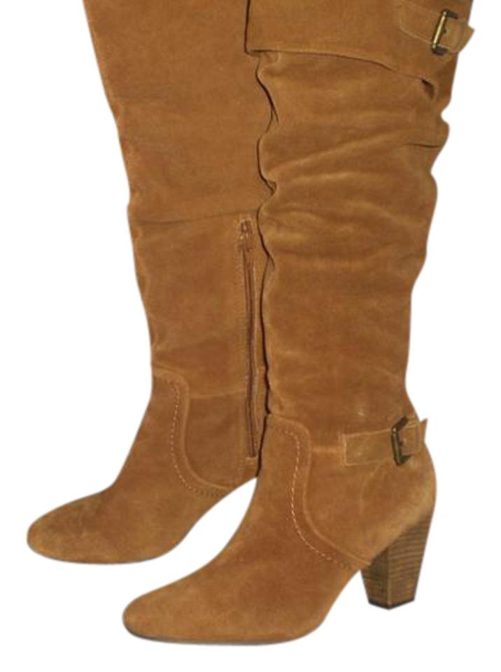 494a64abc Baker Tan/Cognac Baker-brown-cow-suede-leather-16-034-wild-calf-20 ...