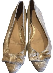 Kate Spade Champagne Flats