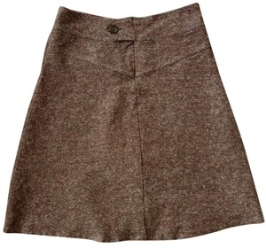 Urban Outfitters High Rise Front Pockets Skirt brown