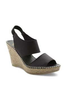 Andre Assous Navy Blue Wedges