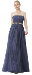 Adrianna Papell Strapless Tulle Ball Gown Gown Evening Dress