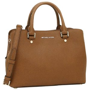 Michael Kors 30s6gs7s2l Tan Brown 190049139868 Mk Satchel in Luggage