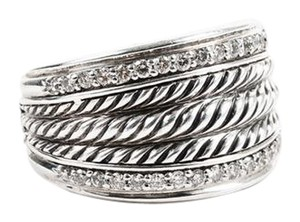 David Yurman David Yurman Wheaton Band Diamond Ring