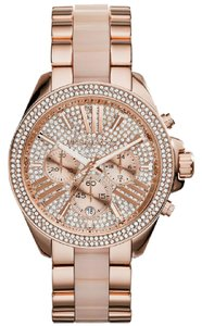 Michael Kors Michael Kors Women's Rose Gold-Tone Wren Watch MK6096