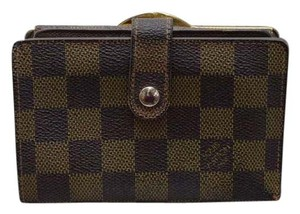 Louis Vuitton Auth. Louis Vuitton Portefeuille Viennois Damier Wallet