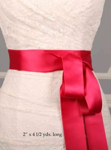 Fuschia Pink Ribbon Sash