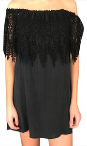 Stone Cold Fox short dress black on Tradesy