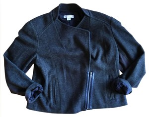 Coldwater Creek Stretchy Wool Motorcycle Jacket