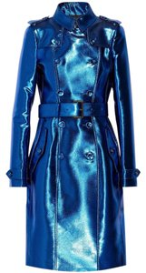 Burberry Metallic Metallic Trench Trench Trench Coat