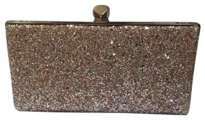 Jimmy Choo Glitter Sequin Exclusive Pink Clutch