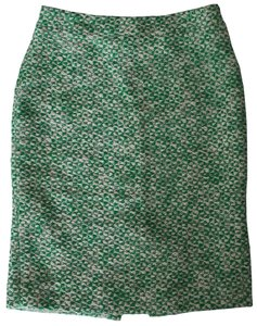 J.Crew Pencil Tweed Skirt Green