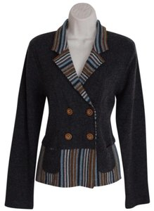 Anthropologie Striped Sparrow Size L Cardigan