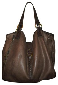 Lucky Brand Leather Hobo Bag