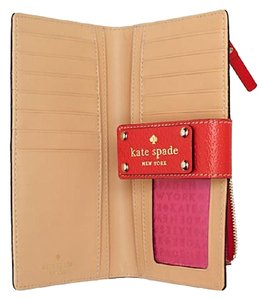 Kate Spade Kate Spade Stacy Leather Snap Wallet