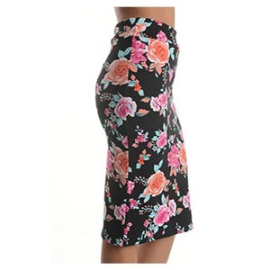 Other Skirt Floral and black