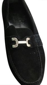 Herms Black Flats
