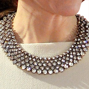 Zara Crystal Collar Necklace