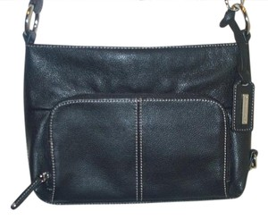 Tignanello Attached Wallet Leather Like New Shoulder Bag