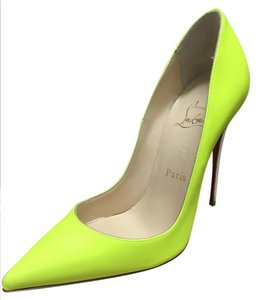 Christian Louboutin Louboutin Sokate Yellow Pumps