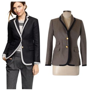 J.Crew black brown Blazer