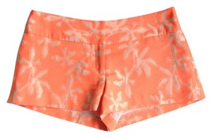 MILLY Shorts Orange