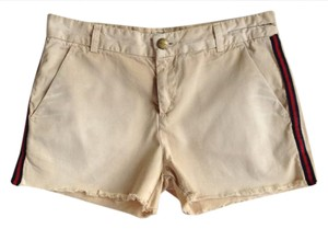 Current/Elliott Cut Off Shorts khaki