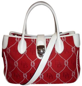 Dooney & Bourke Refurbished Monogram Convertible Lined Cross Body Bag
