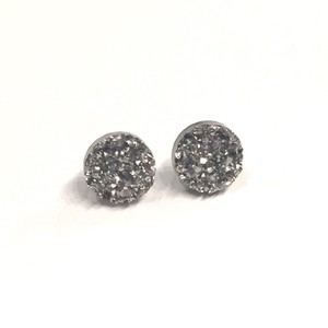Shop Austla Gun Metal Druzy