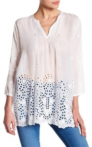 Johnny Was Embroidered Festival Boho Tunic