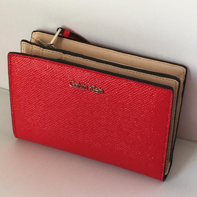 Item - Bright Red Clutch Womens Saffiano Leather Galey Wallet