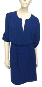 BCBGMAXAZRIA short dress Blue Depth on Tradesy