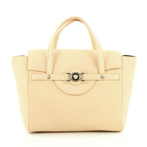 Versace Leather Signature Tote