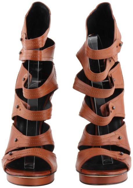 Item - Brown Catalpa Leather Strappy Sandals Size US 10 Regular (M, B)