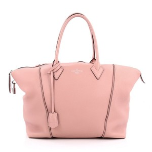 Louis Vuitton Soft Lockit Leather Tote