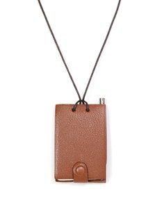 Hermès Hermes Leather Notebook Necklace w/ Pencil