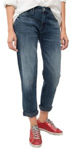 Mother Boyfriend Cut Jeans-Medium Wash