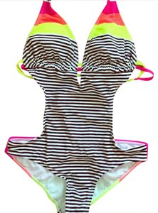 OP Monokini with Neon Accents
