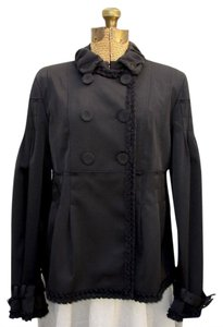 Pringle of Scotland Double Breasted Short Trench Trench Trench Coat