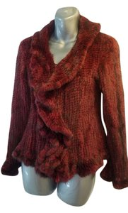 Knitted Mink New Without Tags Never Worn 3 Closure Fur Coat