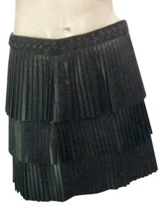 INTERMIX Mini Skirt Black