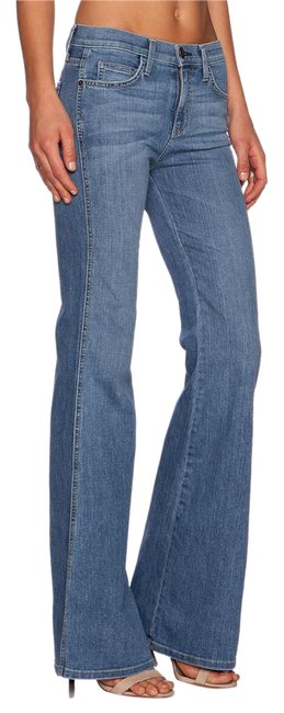 Item - Sky Blue Light Wash Girl The Crush Trouser/Wide Leg Jeans Size 29 (6, M)