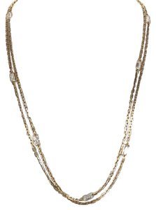 Michael Kors Michael Kors Very Hollywood Crystal Channel Set Necklace 44